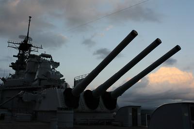Guns on Main Deck