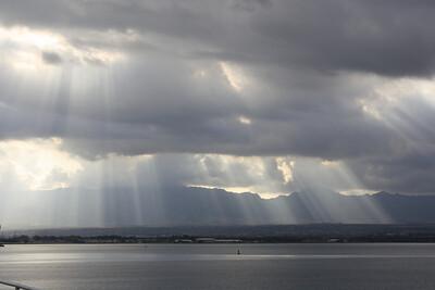 Beautiful Sky Burst Over East Loch