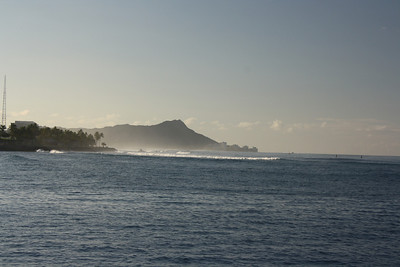 Early Morning View of Diamond Head