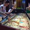 Selling Icecream in Lazise
