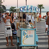 Ice Vendor on the promenade of Lazise