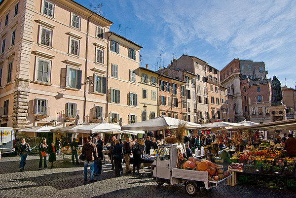 Rome - Campo de' Fiori and nearby
