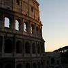 Colosseum at sundown