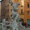Fontana del Nettuno (Neptun's Fountain) at Pizza Navona