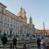 Piazza Navona in the late afternoon