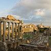 Forum Romanum shortly before sundown