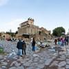 At the Forum Romanum - 360 degree panorama