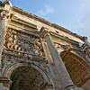 Detail of the Arch of Septimius Severus