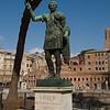 Statue on Via Foro Imperiali
