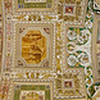 Ceiling of the Galleria delle Carte Geografiche at the Vatican's museums