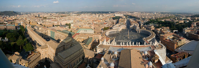 Rome - Views from St. Peter's Basilica