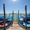 Gondolas at Piazza San Marco