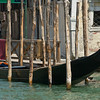 Gondola, moored