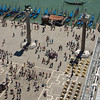 Look from Campanile di San Marco to Piazetta die San Marco