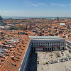 View From Campanile towards Piazza San Marco