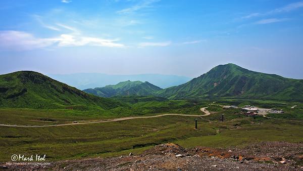 Mt. Aso Surrounding Mountains