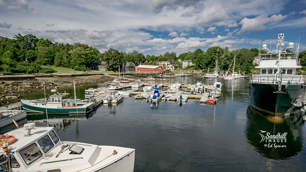 Harbor in Camden, Maine