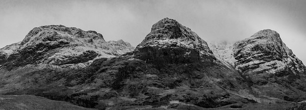 """Three Sisters"" Scottish highlands"