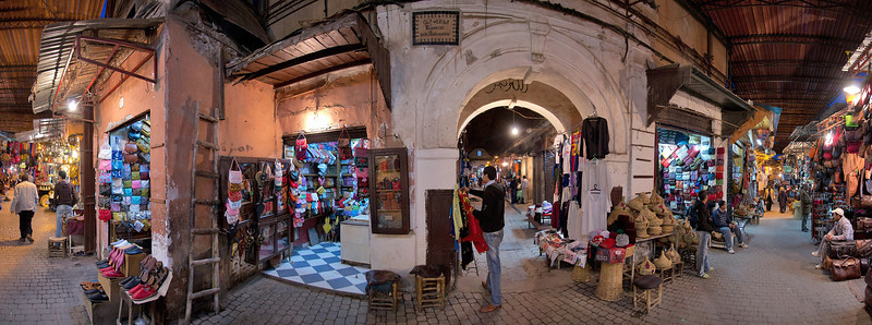In the Souks of Marrakech