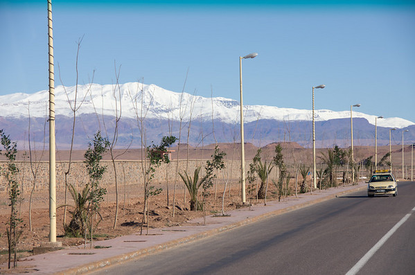 Route N10 from Ouarzazate to Tineghir