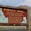 Hydraulic Mining Sign