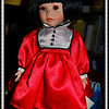 """""""POPPY"""" by artist Kay McKee<br /> <br /> """"I live in my own little world. But its ok, they know me here."""" ~  Lauren Myracle <br /> <br /> Porcelain, antique doll photographed at the historic home of a lady I met while visiting Arkansas City, Arkansas. """"Poppy"""" is just one of the many dolls in her priceless collection.<br /> <br /> Rita's Historic Home<br /> Arkansas City, AR<br /> <br /> (photo taken 3/22/2014)"""