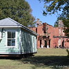 "October 5, 2015<br /> <br /> Rear of ""MOUNT HOLLY"" (circa 1856)<br /> <br /> ""Mount Holly is one of the last antebellum homes of its size remaining in Delta. The 30-room mansion was completed in 1856 for Margaret Johnson, said Oglesby. Word is, she said, that Margaret's father bought the land and she was to pay him $100,000 for it. Supposedly, she only paid $20,000, so when her father died, he left only the house to her in his will. The home, which has remained vacant since the late 1990s and has fallen into a state of disrepair, is on the National Register of Historic Homes."" ~ Reprinted text from here:<br /> <br /> <a href=""http://www.hattiesburgamerican.com/story/news/local/2014/04/14/lake-washington-homes-to-be-open-for-tour/7686593/"">http://www.hattiesburgamerican.com/story/news/local/2014/04/14/lake-washington-homes-to-be-open-for-tour/7686593/</a><br /> <br /> Lake Washington Road<br /> Chatham, MS"
