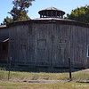 "October 5, 2015<br /> <br /> ""COTTON SEED STORAGE HOUSE""<br /> <br /> The marker reads: ""Built by the Stein family in the 1920s, this two-story hexagonal structure consisting of sixteen pie-shaped rooms is a rare example of ""round barns"" of the late 19th to early 20th century. Local planters stored their seeds here after their hand-picked cotton was ginned at the adjacent Stein gin.""<br /> <br /> Stein Road<br /> Chatham, MS"