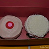 """SPRINKLES CUPCAKES<br /> <br /> How sweet it is..........I always wanted to taste a """"sprinkles"""" cupcake. So, we ordered one for him (left cupcake) and one for me (right cupcake). In my honest opinion, they are not all that and I have tasted much better cupcakes.<br /> <br /> Strawberry Cupcake (left) - """"Tantalize your taste buds with Sprinkles Strawberry cupcakes! This juicy cupcake is made with ripe, succulent strawberries pureed into both its cake and frosting. Naturally painted pink with everyone's favorite fruit, they're as beautiful as they are sweet!"""" ~ Reprinted text from official website<br /> <br /> Vanilla Cupcake (right) - """"Purists will delight in Sprinkles Vanilla cupcakes, though our vanilla cake is anything but simple. A favorite of the bakery staff, this soft, delicate cake is perfumed by the sweet flavor of Nielsen Massey Madagascar Bourbon Vanilla for an effect that is simply... heaven."""" ~ Reprinted text from official website<br /> <br /> Sprinkles Cupcakes<br /> 4501 North Scottsdale Road, #201<br />  Scottsdale, AZ 85251<br /> <br /> Official website:  <a href=""""http://www.sprinkles.com"""">http://www.sprinkles.com</a><br /> <br /> (photo taken 12/24/2014)"""