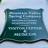 """May 21, 2016<br /> <br /> Visitor Center and Museum was closed when we arrived.<br /> <br /> """"We've been bottling water from this majestic, natural spring for more than 145 years, and our commitment to keeping it natural has never wavered. Our water is officially and specifically labeled """"natural,"""" because unlike water from man-made artesian wells, The Mountain Valley Spring Water rises naturally to the surface of the earth where it is bottled – untouched – to this day.""""<br /> <br /> """"With such strong ties to the land, it's no wonder our water is a natural choice for health-conscious consumers. The Mountain Valley Spring Water is sodium free, naturally ionized and rich in minerals. Our water is a unique blend of minerals, providing a clean, crisp, refreshing taste revered by foodies and chefs alike. It was even named the """"Best-Tasting Water in the World"""" – twice – at Berkeley Springs International Water Tasting. Our water is also highly regarded for its ease on digestion. With a 7.8 ph, the naturally high alkalinity of our spring water helps offset the stress of modern acidic diets.""""<br /> <br /> """"Keeping it natural also means keeping it pure. We never add sweeteners, preservatives or colorants to our water. Our sparkling water offerings simply include carbonation and natural fruit flavors. Our water undergoes vigorous testing and analysis, which far exceeds the scope of testing required for municipal tap water systems.<br /> <br /> """"We have always preferred bottling in glass for its quality, taste and superior mouth-feel, but we are proud to offer recyclable, BPA-free, green plastic bottles as a convenient, on-the-go alternative. And many homes and offices choose the easy accessibility of our 2.5 – 5 gallon water cooler  bottles. For more detail, you can review our latest water analysis, browse our product offering or find some of our favorite food pairings and mixed drink recipes on our blog.""""<br /> <br /> ~ Reprinted text from the official website here:<br /> <br"""