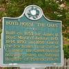 "October 2, 2015<br /> <br /> BOYD HOUSE - aka ""The Oaks or The Oaks House"" or ""The Oaks House Museum"" Historical Marker<br /> 823 North Jefferson<br /> Jackson, MS<br /> Official website: <a href=""http://www.theoakshousemuseum.org"">http://www.theoakshousemuseum.org</a>"