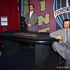 ROBERT DINERO (standing) and BUGSY SIEGEL (seated)<br /> <br /> Madame Tussauds Interactive Wax Museum (Inside the Venetian)<br />  Las Vegas Blvd.<br />  Las Vegas, NV