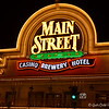 """""""MAIN STREET STATION""""<br /> 200 North Main Street<br /> Las Vegas, NV<br />  <a href=""""http://www.mainstreetcasino.com/"""">http://www.mainstreetcasino.com/</a><br /> <br /> Glittering lights. Stunning visual and sound effects. Crowds of people.<br /> <br /> Just another night on the Las Vegas Strip, right? Wrong.<br /> <br /> Welcome to the Fremont Street Experience located in fabulous downtown Las Vegas.<br /> <br /> The most obvious and largest part of the Fremont Street Experience is the Viva Vision canopy and light show. The canopy towers 90 feet above the ground and spans the length of five football fields. Featuring more than 12 million LED modules and 555,000-watt sound system, the light show attracts tourists and locals alike.<br /> <br /> According to Wikipedia, """"The Fremont Street Experience (FSE) is a pedestrian mall and attraction in downtown Las Vegas, Nevada. The FSE occupies the westernmost 5 blocks of Fremont Street, including the area known for years as """"Glitter Gulch,"""" and portions of some other adjacent streets.The attraction is a barrel vault canopy, 90 ft (27 m) high at the peak and four blocks, or approximately 1,500 ft (460 m), in length. While Las Vegas is known for never turning the outside casino lights off, each show begins by turning off the lights on all of the buildings, including the casinos, under the canopy. Before each show, one bidirectional street that crosses the Experience is blocked off for safety reasons.The venue has become a major tourist attraction for downtown Las Vegas, and is also the location of the Neon Museum at the Fremont Street Experience and the city's annual New Year's Eve party, complete with fireworks on the display screen.""""<br /> <br /> Fremont Street Experience<br /> Fremont Street<br /> Las Vegas, NV"""