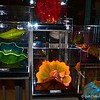 "July 11, 2013<br /> <br /> Studio Pieces Overview at Chihuly at Bellagio Store<br /> <br /> View the 2006 display here: <br /> <br /> <a href=""http://www.smugmug.com/gallery/n-3pK5d/i-34zt5rQ/A"">http://www.smugmug.com/gallery/n-3pK5d/i-34zt5rQ/A</a><br /> <br /> Bellagio is a luxury hotel and casino on the Las Vegas Strip in Paradise, Nevada. It is owned by MGM Resorts International and was built on the site of the demolished Dunes hotel and casino. Inspired by the Lake Como town of Bellagio in Italy, Bellagio is famed for its elegance. One of its most notable features is an 8-acre (3.2 ha) lake between the building and the Strip, which houses the Fountains of Bellagio, a large dancing water fountain synchronized to music. Inside Bellagio, Dale Chihuly's Fiori di Como, composed of over 2,000 hand-blown glass flowers, covers 2,000 sq ft (190 m2) of the lobby ceiling. Bellagio is home to Cirque du Soleil's aquatic production ""O"". The main (original) tower of Bellagio, with 3,015 rooms, has 36 floors and a height of 508 ft (151 m). The Spa Tower, which stands to the south of the main tower, has 33 floors, a height of 392 ft (119 m), and contains 935 rooms. <br /> <br /> ""BELLAGIO LAS VEGAS"" 2013<br /> 3600 Las Vegas Blvd South <br /> Las Vegas, NV  89109"