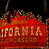 """""""SAM BOYD'S CALIFORNIA HOTEL & CASINO""""<br /> 200 East Fremont Street (between Casino Center Boulevard and 3rd Street)<br />  Las Vegas, NV <br /> <br /> Glittering lights. Stunning visual and sound effects. Crowds of people.<br /> <br /> Just another night on the Las Vegas Strip, right? Wrong.<br /> <br /> Welcome to the Fremont Street Experience located in fabulous downtown Las Vegas.<br /> <br /> The most obvious and largest part of the Fremont Street Experience is the Viva Vision canopy and light show. The canopy towers 90 feet above the ground and spans the length of five football fields. Featuring more than 12 million LED modules and 555,000-watt sound system, the light show attracts tourists and locals alike.<br /> <br /> According to Wikipedia, """"The Fremont Street Experience (FSE) is a pedestrian mall and attraction in downtown Las Vegas, Nevada. The FSE occupies the westernmost 5 blocks of Fremont Street, including the area known for years as """"Glitter Gulch,"""" and portions of some other adjacent streets.The attraction is a barrel vault canopy, 90 ft (27 m) high at the peak and four blocks, or approximately 1,500 ft (460 m), in length. While Las Vegas is known for never turning the outside casino lights off, each show begins by turning off the lights on all of the buildings, including the casinos, under the canopy. Before each show, one bidirectional street that crosses the Experience is blocked off for safety reasons.The venue has become a major tourist attraction for downtown Las Vegas, and is also the location of the Neon Museum at the Fremont Street Experience and the city's annual New Year's Eve party, complete with fireworks on the display screen.""""<br /> <br /> Fremont Street Experience<br /> Fremont Street<br /> Las Vegas, NV"""