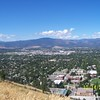 "August 14, 2010<br /> VIEW FROM ""M-TRAIL"" MOUNTAIN CLIMB<br /> Missoula, Montana"