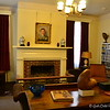 """THE LIBRARY"" at Rowan Oak<br />  Old Taylor Road<br />  Oxford, MS<br /> <br />  Official website is here: <a href=""http://www.rowanoak.com"">http://www.rowanoak.com</a><br />  <br /> Home to William Faulkner and his family for over 40 years, Rowan Oak was originally built in 1844, and stands on over 29 acres of land just south of the Square in Oxford, MS. <br /> <br /> ""Rowan Oak is a Historic Home located on Old Taylor Road, Oxford, Mississippi. The previous address of the house was 719 Garfield roads, in the 1980's the street names were changed. Rowan Oak is also known as William Faulkner House as it was the former home of William Faulkner. The house was built in the 1840's and purchased by Faulkner in the 1930's and completed the majority of renovations himself. He furnished the house antiques and created an office where he kept his writing tools.""<br /> <br />  ""The house is a large two story white frame home on land that is a large 29 acres of wooded land known as Bailey's Woods, and the house occupies only four landscaped acres. The house received more renovations in the 1950's. The house is known for its famous features which is the outline of Faulkner's Pulitzer Prize winning novel A Fable.""<br /> <br />  ""The grounds and surrounding woods contain hundreds of native Mississippi plants; the driveway is lined with an alley of cedars which was common practice in the 1800's. Rowan Oak is a mythical tree which Faulkner used as inspiration for the multi layered time from Rowan Oak where the past and future seem to inhabit the presents. The studs of the house are hand-hewn square cypress.""<br /> <br />  ""The house was sold to the University of Mississippi in 1972 by William Faulkner's daughter, Jill Faulkner Summers. The home is used by the University to promote Faulkner's literary heritage and in 1968 was declared a National Historic Landmark. The house received some slight renovations that were funded by oxford resident John Grisham and was rededicated in May 2005."" <br /> <br /> ""Tours of the house show visitors behind the house where the stable and cooks house are located along with the smokehouse and the preserved gardens. The house has been visited by many accomplished writers over the years including Charles Wright, Alice Walker, Salman Rushdie and John Updike. When author Mark Richard visited Rowan Oak her repaired the faulty doorknob on the French door that led to Faulkner's Study.""<br />  <br /> ~ Reprinted text from here: <a href=""http://www.city-data.com/articles/Rowan-Oak-is-the-historic-home-of-author.html#ixzz2NTrwcYNjOfficial"">http://www.city-data.com/articles/Rowan-Oak-is-the-historic-home-of-author.html#ixzz2NTrwcYNjOfficial</a> website: <a href=""http://www.rowanoak.com/"">http://www.rowanoak.com/</a><br /> <br />  (photo taken 3/13/2013)"