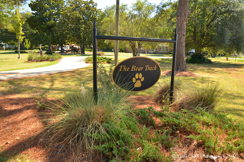 "October 5, 2015<br /> <br /> ""THE BEAR TRACK""<br /> <br /> Located next to the Sharkey-Issaquena Community Hospital<br /> Rolling Fork, MS"
