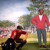 """June 9, 2006<br /> <br /> """"TIGER WOODS AND JACK NICKLAUS""""<br /> <br /> Madame Tussauds Interactive Wax Museum<br />  Las Vegas, NV"""