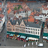 Part of the market square seen from the belfry