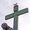 The Bird, The Cross, The Statue