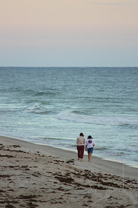 A Beach Stroll.