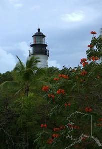 Light house on Key West Florida.