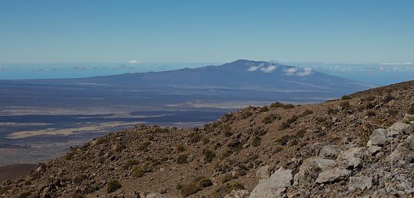 Hualalai Volcano from Mauna Kea