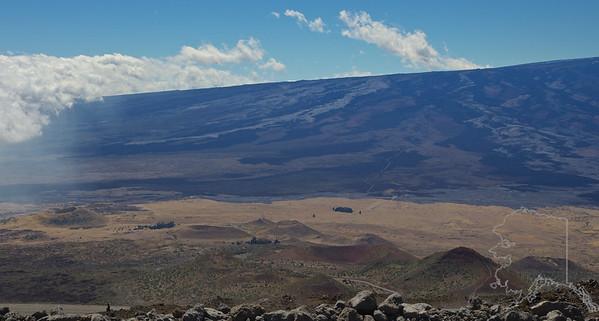 Mauna Loa Volcano from Mauna Kea