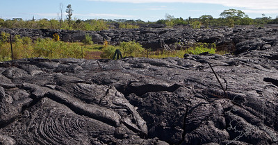 In 2015 I went to the Big Island of Hawaii to chase the lava flow from the East Rift Zone. The lava was running on the surface toward the small town of Pahoa. I wanted to be there to photograph running red lava. Well I was stopped at every turn. I got close a few times but each time I was stopped by security. I tried everything from just talking to them to bribery. So I had no luck. In 2016 I went back to the same place and now the lava had stopped just short of covering the town. It has solidified and turned and was running out to the sea. I went to the Transfer Station where the lava had run through the fencing. Rock through fence. It was very kewl to see. I had know from the news and people talking that the lava had run through a cemetery. I tried to find the cemetery many times with out any luck. I asked a few locals and was told I could not get to it. So I pulled up Google Earth on my laptop and hunted a way in. I made it! I had to do a little trespassing but I got there. Well worth it to see this. I hope you enjoy the images.