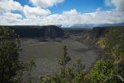 Kilauea Iki Crater.