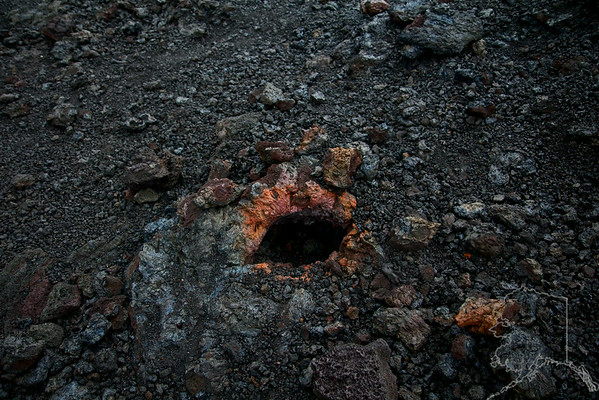 We took a day trip from Maui to the Big Island. Had a great time. I never knew Lava had so much color in it. Eye of the Volcano. This is a gas pocket that burst open when the Lava was running.