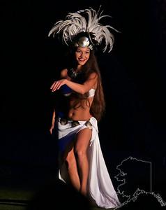 Very Beautiful Hawaiian Dancer.