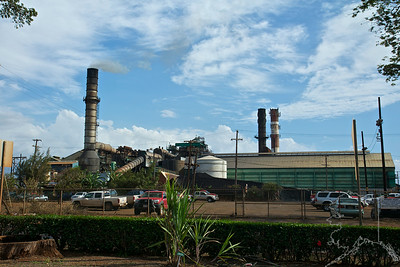 The sugar mill was close the day I went by.  It was routine cleaning for the year. I will go in next time.